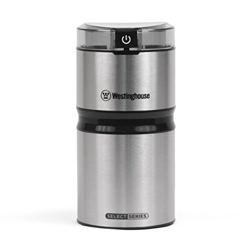 Westinghouse WCG21SSA Select Series Stainless Steel Electric Coffee and Spice Grinder – Amazon Exclusive